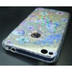 Capa Gel Borboletas Huawei...