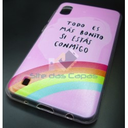 Capa Gel Rainbow Samsung...