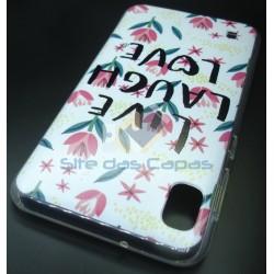 Capa Gel Love Samsung...