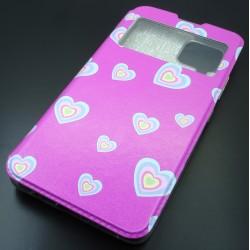 Capa Flip Hearts Samsung...