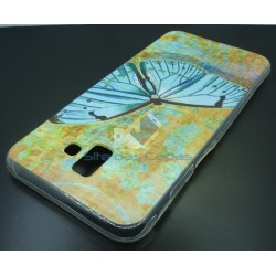 Capa Gel Butterfly Samsung...