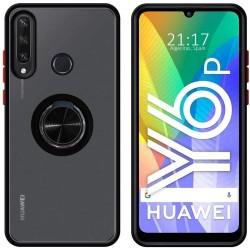 Capa Anel Preto Mate Huawei...