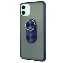 Capa Anel Azul Mate Iphone 11