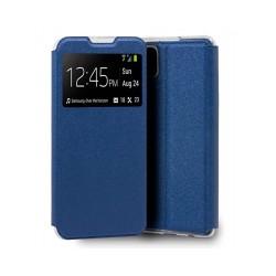 Capa Flip Premium Azul...